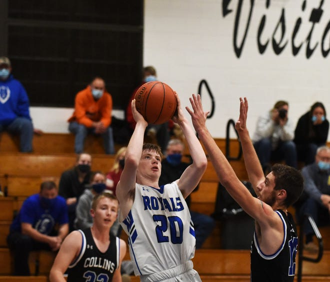 Ephram Muntz was a valuable performer on the perimeter in helping the Colo-NESCO boys' basketball team improve 5.5 games from a year ago.