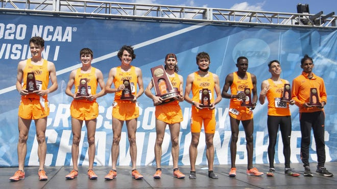 Oklahoma State finished third in the NCAA Men's Cross Country Championships on Monday in Stillwater.