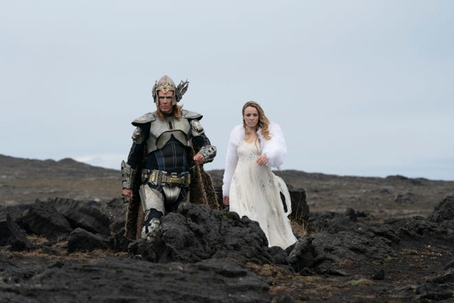 """Will Ferrell and Rachel McAdams in """"Eurovision Song Contest: The Story of Fire Saga."""""""