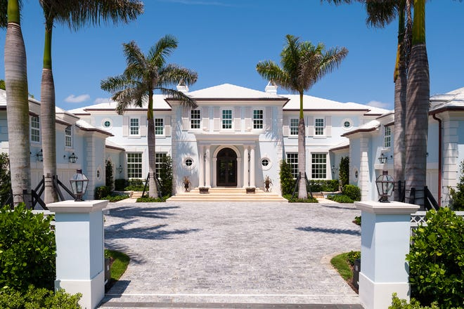 A custom home built in 2013 for Pat and Lillian Carney and facing the Intracoastal Waterway at 1350 N. Lake Way has sold for a recorded $49 million. The buyer is a limited liability company linked to casino billionaire Steve Wynn, who owns two other Palm Beach houses.