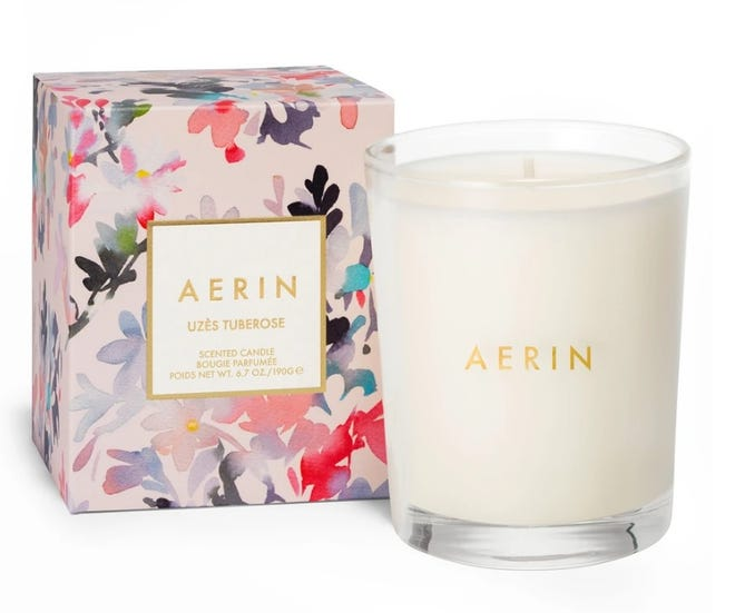 Carleton Varney says the right scent can make all the difference in a room. A candle with the fragrance of tuberoses is available at Aerin Lauder's Aerin.com or through the Palm Beach store at 33 Via Mizner.