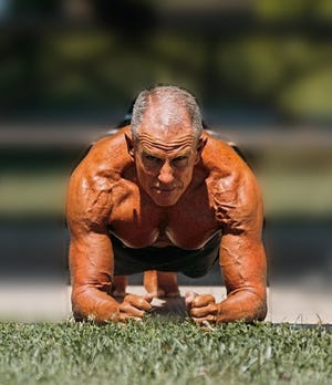 In February 2020, George Hood madeinternational news by setting theGuinness WorldRecord for the longest plank:eight hours, 15 minutes and 15 seconds.