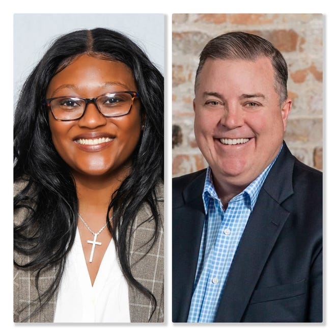 Democrat Gina Meeks will challenge Republican Robert A. Walsh in the April 6 election to become the next alderman of the 12th Ward.