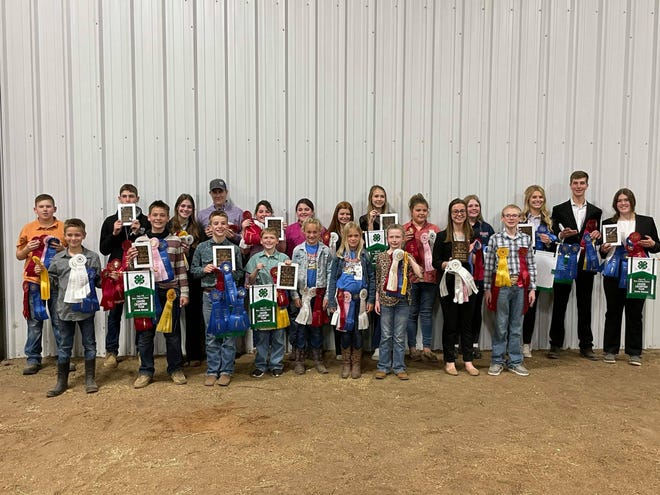 Erath County 4-Hers recently took part in a dairy judging competition in Abilene and came away with a plethora of awards for their efforts, including at least nine first-place finishes among individuals and teams.