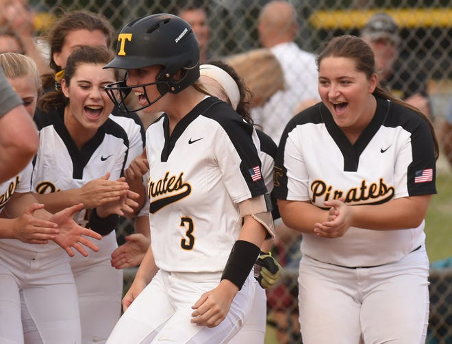 Topsail's Sydney Hartgrove (3) leads the Pirates into the 2021 season with conference and state title hopes.
