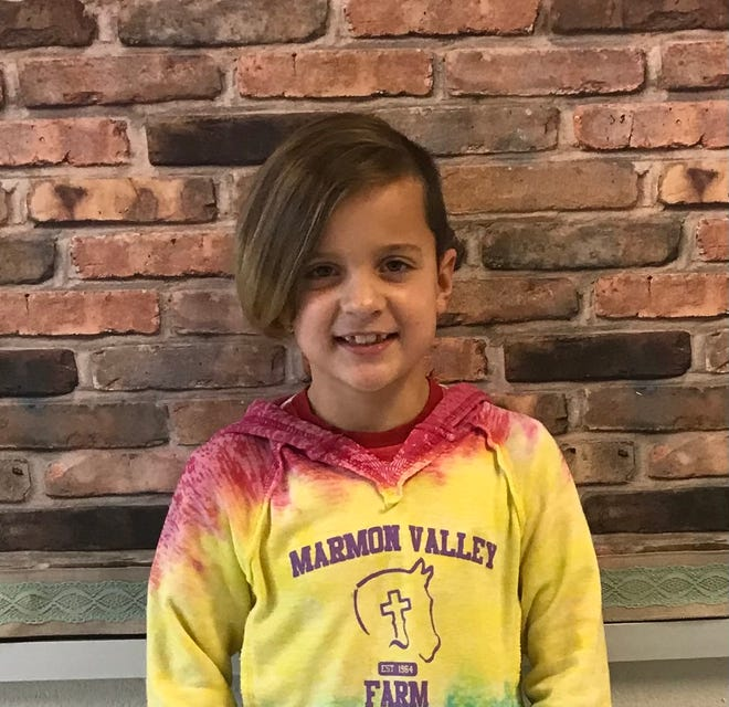 Amelia Kappel of Surf City Elementary is Pender County Schools' Student of the Week.