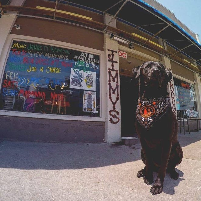 Kruiser and the rest of the team at Jimmy's in Wrightsville Beach are hoping the local bar gets enough votes to progress in the Best Bar competition from Barstool Sports.