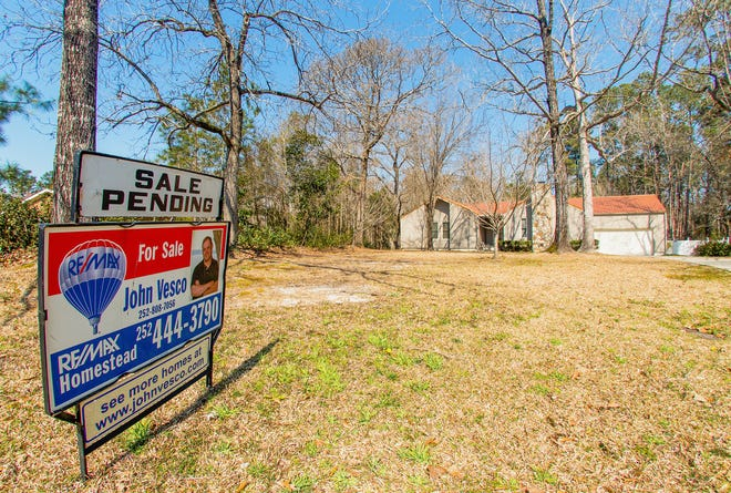 This home in Indian Hills in Havelock awaits its new owners. Listing and selling prices have increased rapidly between January and last month.