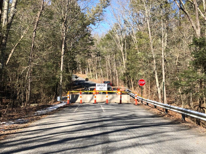 The rapid deterioration of the Taft Pond Road bridge in Pomfret prompted the span's closure until repairs can be conducted.