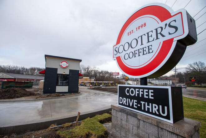 A new Scooter's Coffee shop is set to open March 29 near the corner of S.W. 29th and Gage. This will be the second Scooter's Coffee in Topeka.