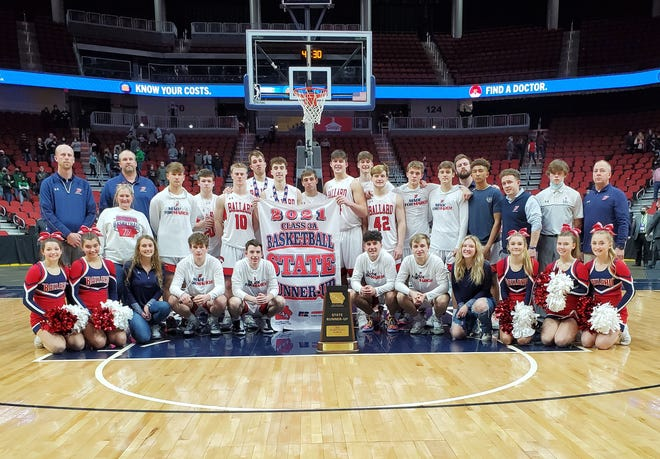 Ballard boys' basketball team