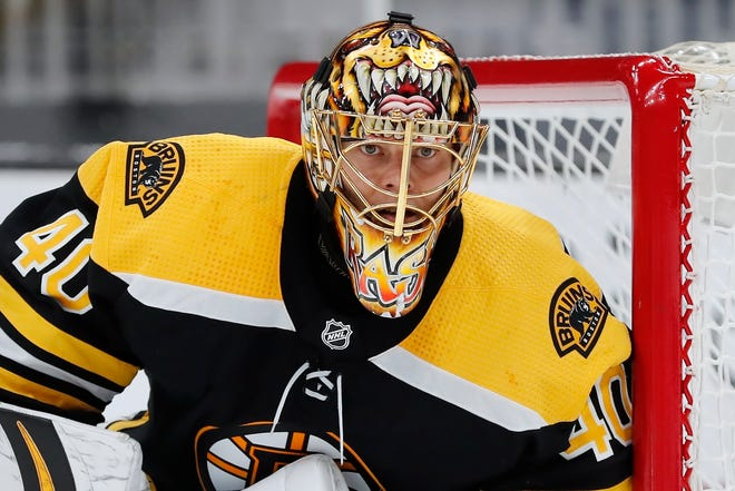 Bruins goalie Tuukka Rask played every period in the playoffs except the third period of Game 5 against the Islanders.