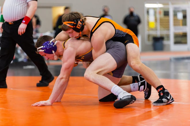"""Central Crossing graduate James Wimer won the NCAA Division II wrestling championship at 157 pounds for Findlay. """"It was really surreal when I won it. It was almost like a relief. It's always been a goal that I have had but never achieved,"""" he said."""