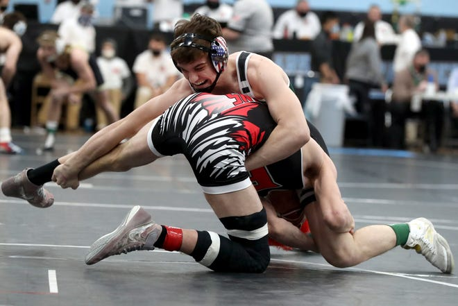 Westland's Jakob Hurley placed sixth at 152 pounds in the Division I state tournament. The junior went 37-10 for the season and is 113-23 in his career.
