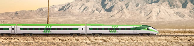 "During the 2021 High Desert Real Estate Symposium, a ""Brightline West Panel"" is scheduled to discuss the high-speed passenger rail project between Apple Valley and Las Vegas."