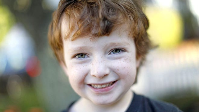 """Quinn Waters, 5, who is known as """"The Mighty  Quinn"""" will be the grand parade marshal for an upcoming Weymouth Irish Heritage Day celebration in mid-September."""