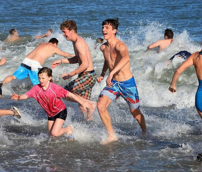 The ALS One Polar Plunge will take place at Rexhame Beach on Saturday, April 3.