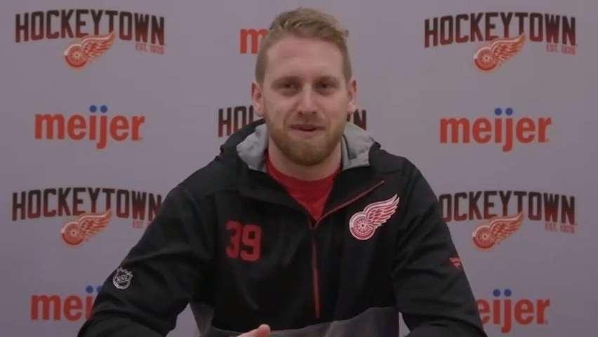 "Anthony Mantha: Why ""I've been playing way better"" lately for Red Wings"