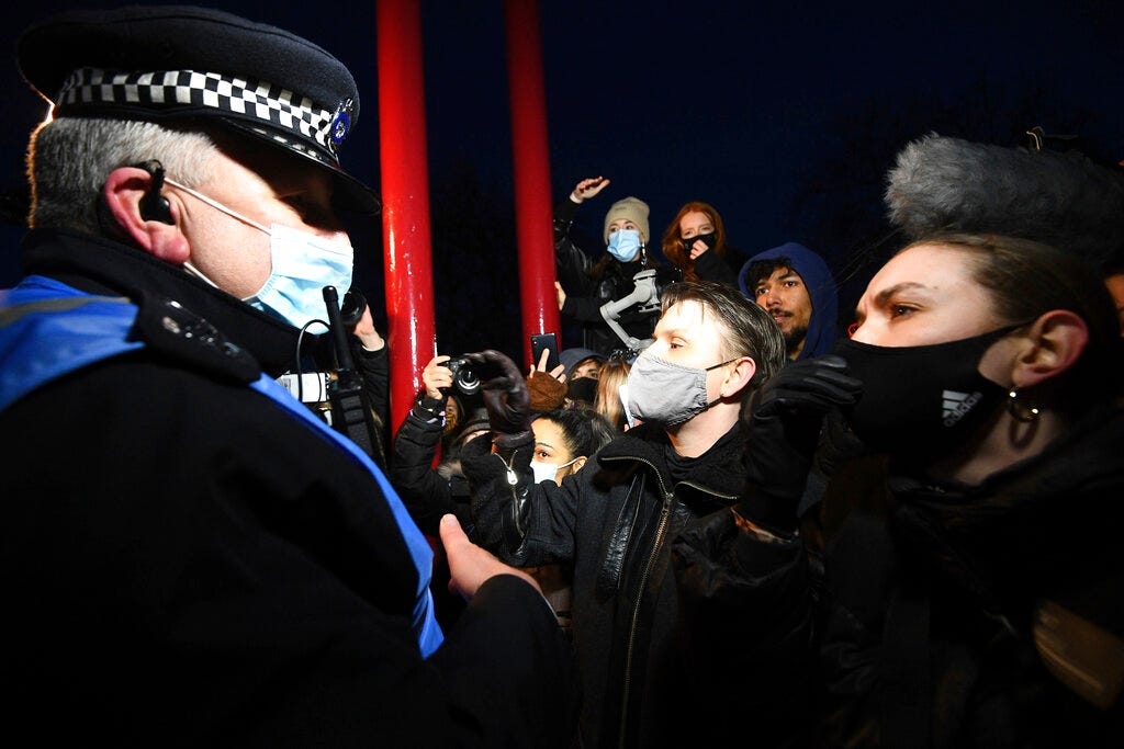 Police protest response stokes outrage ahead of crime bill 2