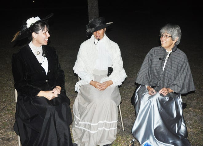 Ghost Walks were the biggest fundraiser each year by Friends of Koreshan State Park. Since that had to be cancelled this year due to the pandemic, the volunteer group looked for a new way to raise money.