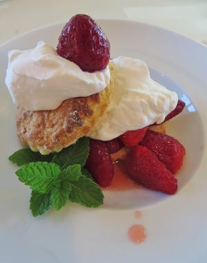 Old fashion strawberry shortcake is a sure sign that spring has arrived and strawberry season is here.