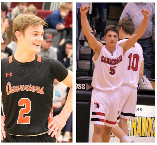For the first time, both Dell Rapids and St. Mary will be competing in boys state basketball tournaments in the same year.