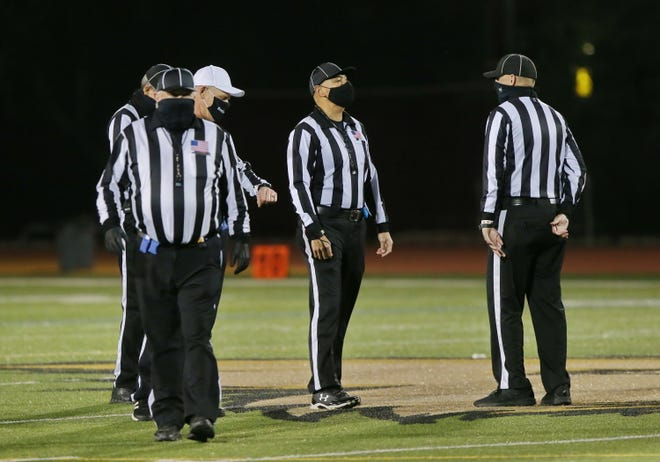 The Channel Coast Football Officials Association says the number of working officials has gone from 110 to the high 70s.