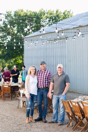 Jenni, Jim and Matt Gavin operate Gavin Farms, marketing their own beef and other products from their farm store and on line.