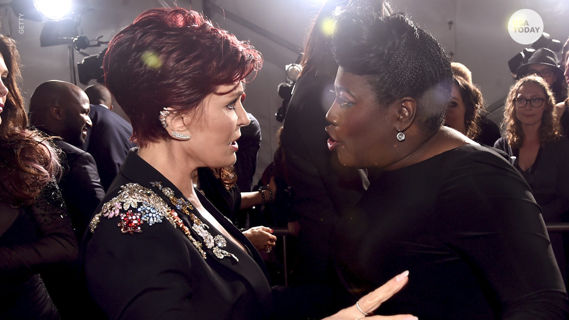 Sharon Osbourne Crosses The Line On The Talk Sherri Shepherd Says