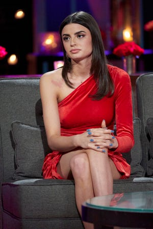 "Rachael Kirkconnell appears on ""The Bachelor"" during the ""After The Final Rose"" special."