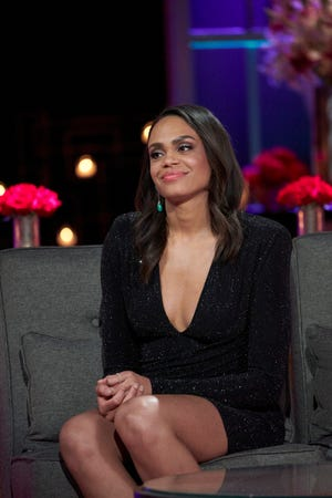 "Michelle Young appears on ""The Bachelor"" during the ""After The Final Rose"" special."