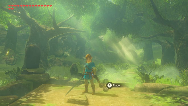 "A scene from 'Legend of Zelda: Breath of the Wild"" for Nintendo Switch"