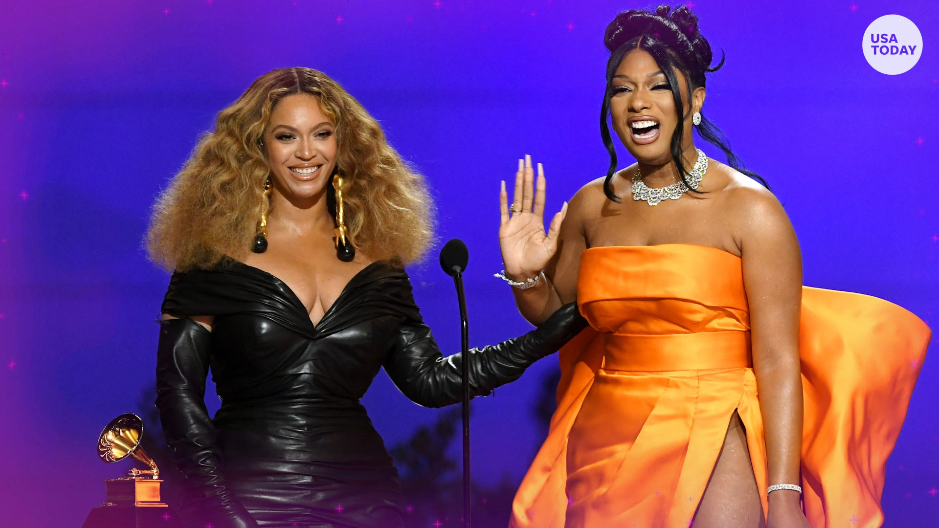 Beyoncé, Taylor Swift and Megan Thee Stallion have a big night at the 2021 Grammy Awards
