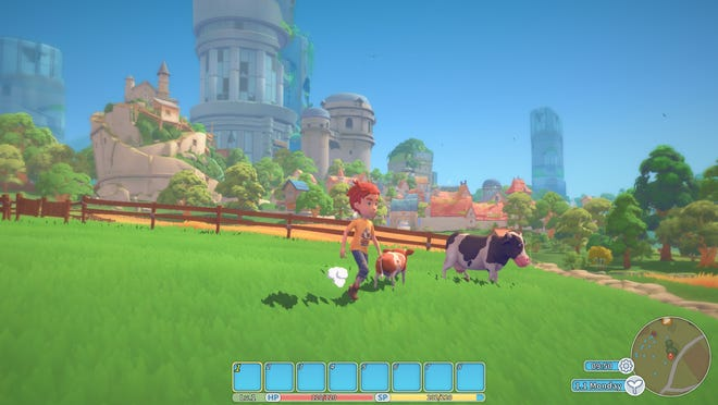 A scene from 'My Time at Portia' video game