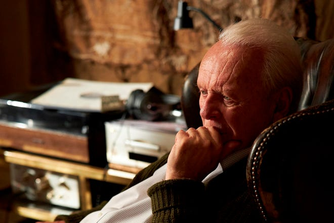 "This image released by Sony Pictures Classics shows Anthony Hopkins in a scene from ""The Father.""  (Sean Gleason/Sony Pictures Classics via AP)"