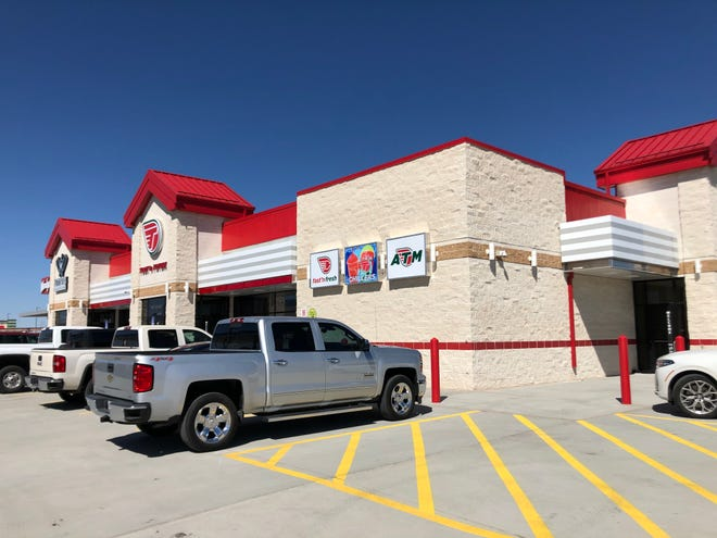 The Toot 'n Totum Travel Center opened Tuesday at the intersection of I-40 and Lakeside.
