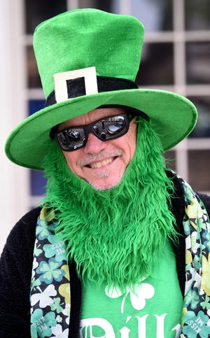John Chesani wears his leprechaun costume to the 2019 St. Patrick's Day Parade in Augusta, Ga. Although there will not be a parade or party at the Augusta Common this year, some celebrations can still be found in the Augusta area.