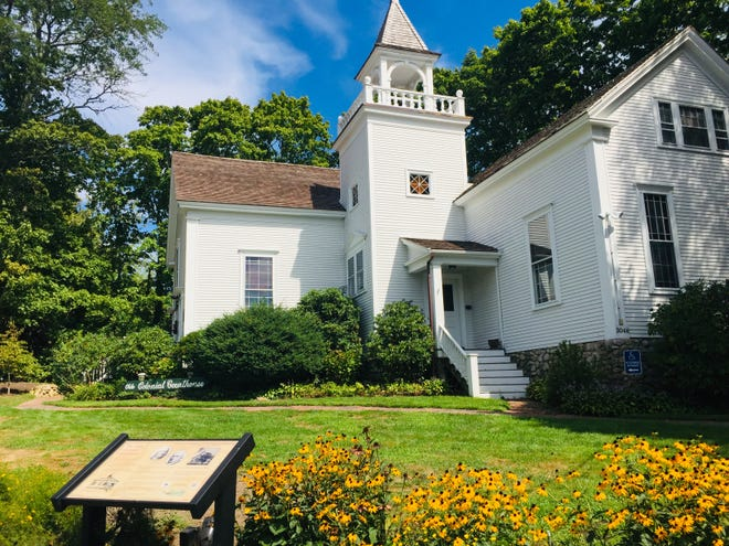 Originally built in 1763, the Olde Colonial Courthouse at 6A and Rendezvous Lane. In keeping with its preservation mission, Tales of Cape Cod has embarked on a multi-year restoration program.