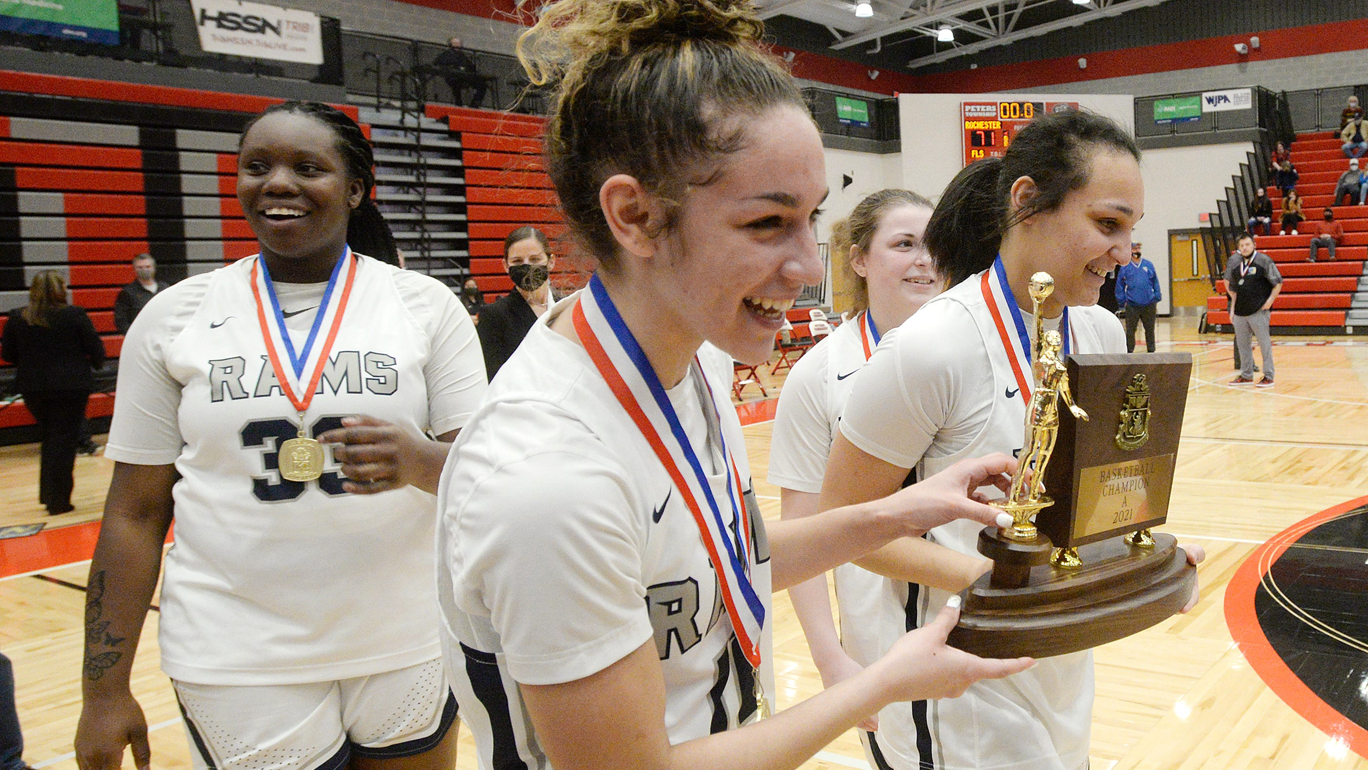 The Times' 2021 Girls Basketball Players of the Year: Alexis Robison, Corynne Hauser back Rochester's three-peat