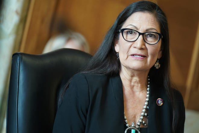 Rep. Debra Haaland, D-N.M., was confirmed on Monday, March 15, 2021, to be secretary of the Department of the Interior.