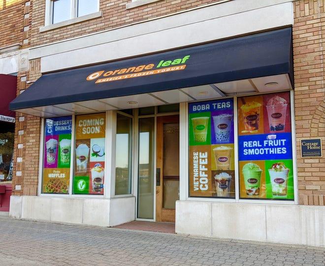 Bambu Desserts & Drinks will soon open a location in the former Orange Leaf Frozen Yogurt storefront in downtown Holland.