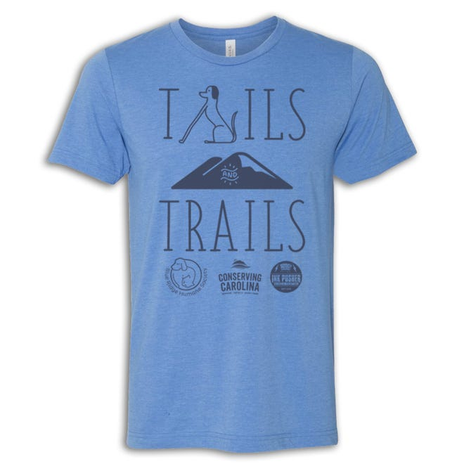 Tails and Trails t-shirt