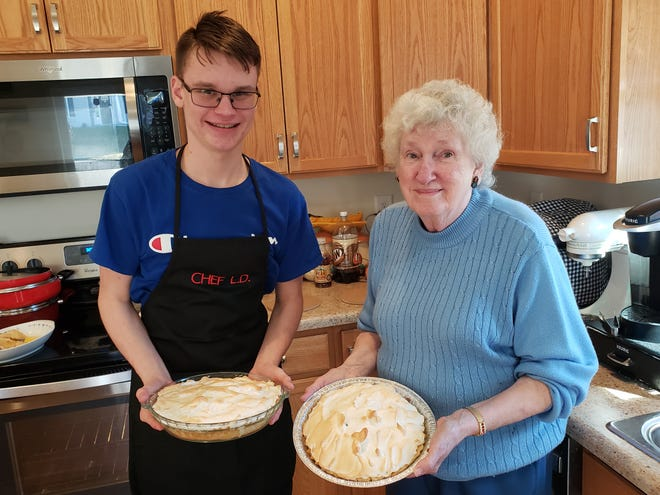 Arlene Edgell, an 87 year-old resident of White Hall, West Virginia, was pleasantly surprised to hear her great-grandson, Logan Decker, was interested in learning to cook.