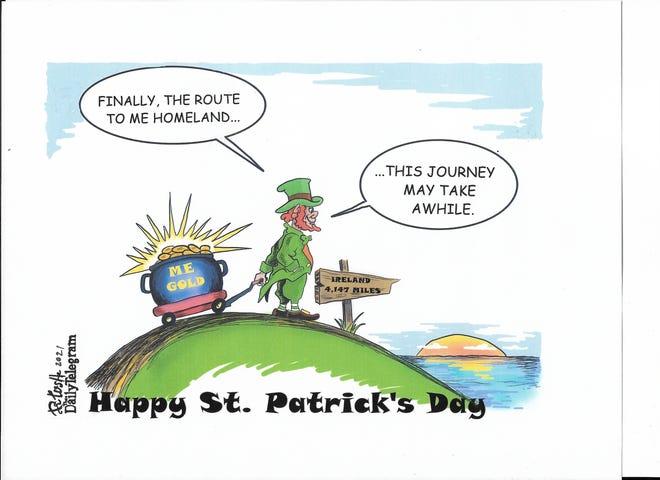 St. Pat's cartoon