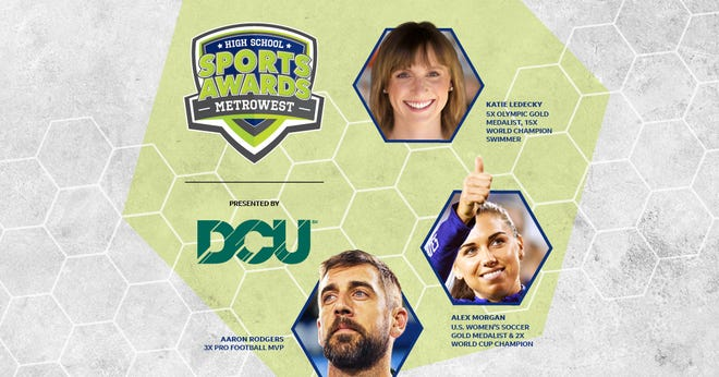 Three-time NFL MVP Aaron Rodgers, two-time FIFA World Cup Champion Alex Morgan and five-time Olympic gold medalist Katie Ledecky will be among a group of presenters and guests for the Daily News high school sports awards show.