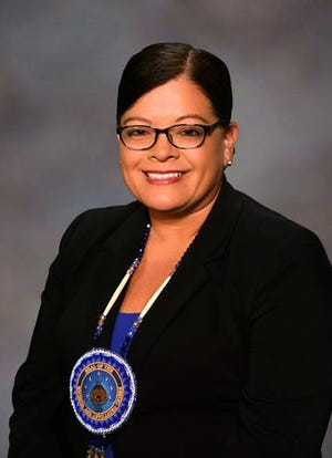 Terri Parton, president of the Wichita and Affiliated Tribes of Oklahoma