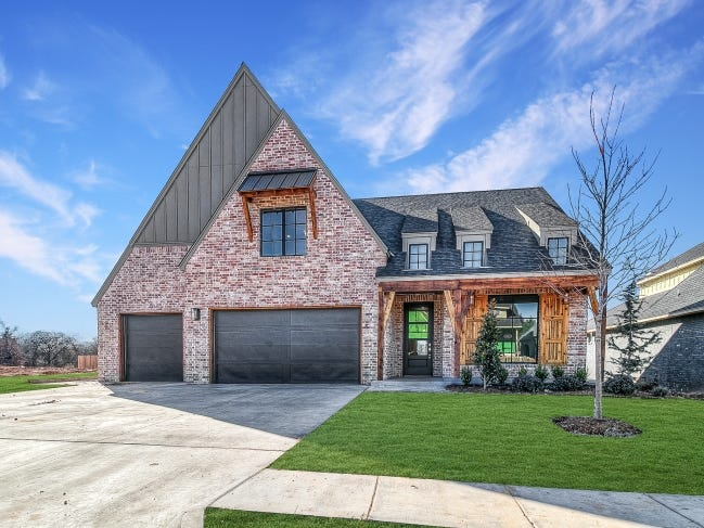 Ripple Creek Homes LLC built this Urban Farmhouse-style house at 2401 Amante Court, Edmond, for last year's Parade of Homes Spring Festival. The home is in the Cross Timbers addition, the featured neighborhood again for the 2021 parade.