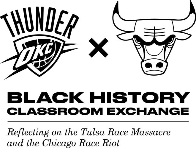 The Thunder and Bulls have teamed up for a Black history classroom exchange.