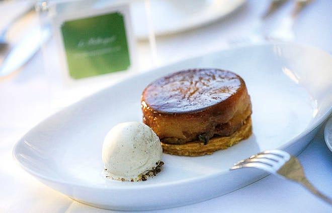 Le Bilboquet's Easter desserts will include tart tatin.