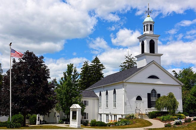 The Stratham Community Church recently installed a carillon in its church steeple.